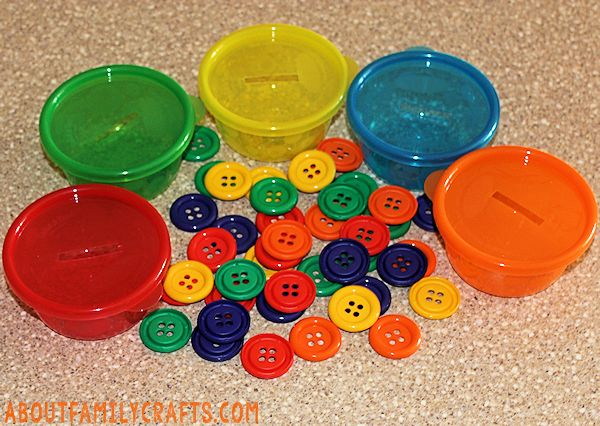 Button Counting and Sorting