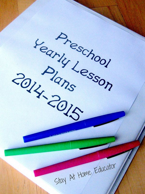 How to write a year long lesson plan music