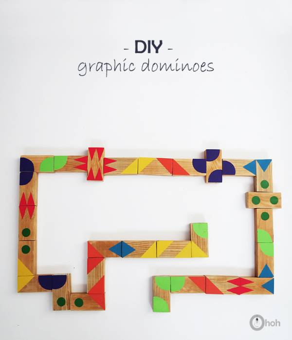 diy graphic dominoes game for kids 1
