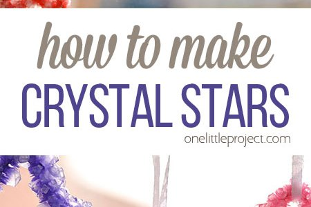 Kids Science – How To Make Crystal Starts
