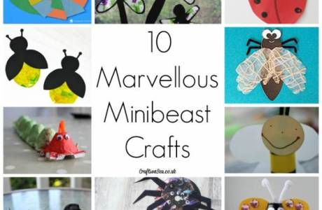 Make a Bunch of Magnificent Minibeasts with Your Kids