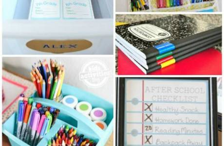 Easy Ways to Get Ready for Back to School