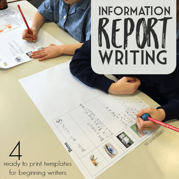 How to help early writers write informational reports