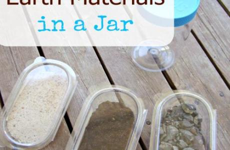 Explore Natural Materials in a Jar