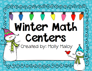 Winter Math Centers!
