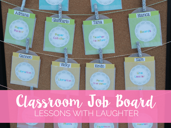 Classroom Job Board & In Our Class Banner
