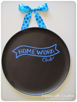 Chalkboard Homework Club & Idioms!