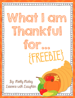 Thanksgiving Freebie & Math Centers!