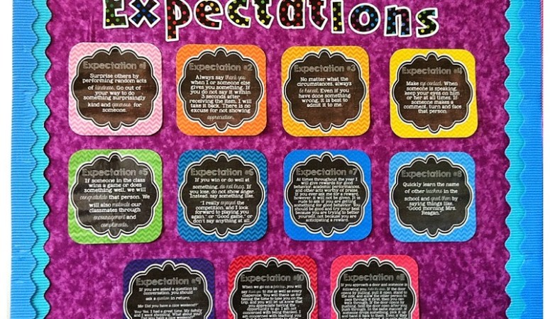 Ron Clark Expectations Posters!