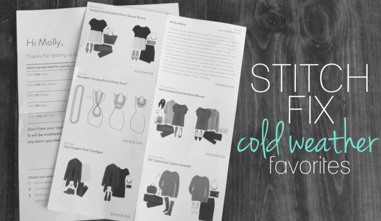 Stitch Fix: Cold Weather Favorites