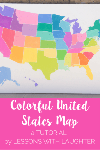 Colorful United States Map Tutorial