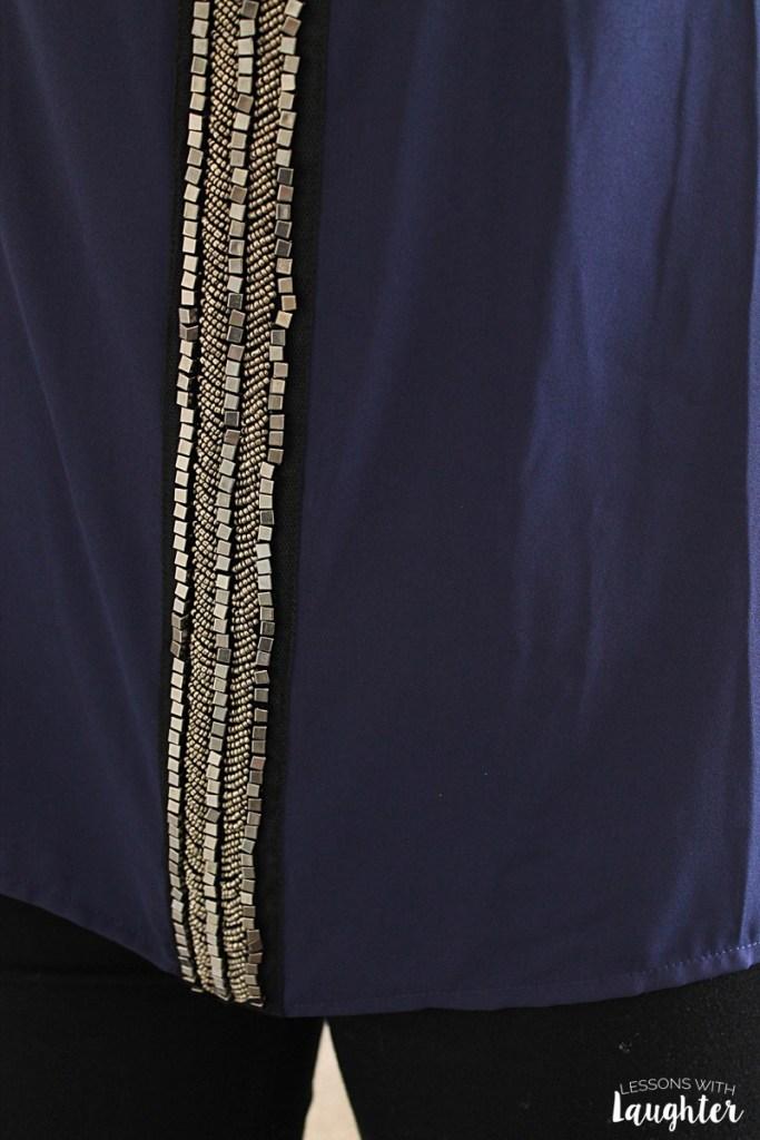 Darcy Beaded Panel Blouse by Fun2Fun - Stitch Fix