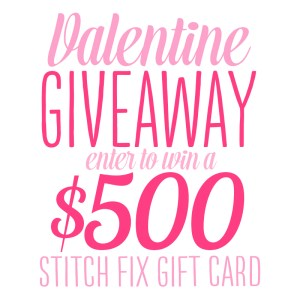 Stitch Fix Valentine Giveaway