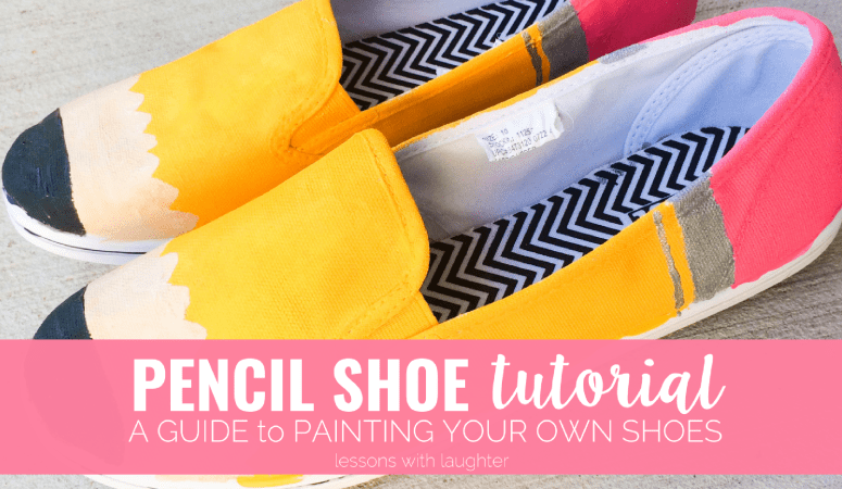 Pencil Shoe Tutorial: A Guide to Painting Your Own Shoes