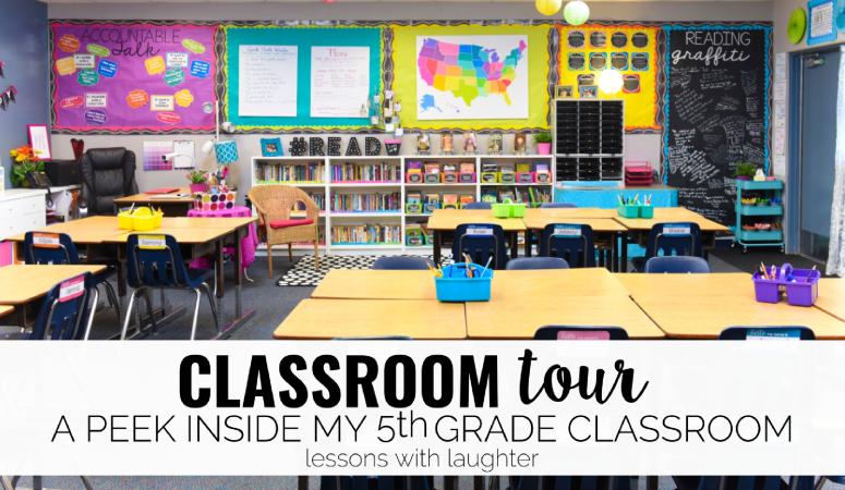 Classroom Tour: A Peek Inside my 5th Grade Classroom