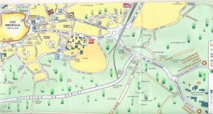 Sarlat direction Les Trois Jardins MAP