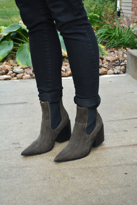 lee jeans, asos epidemic ankle boots, ashley from lsr