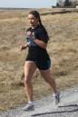 Sylvia Von Gunten of the Cross Country Running Team trains on campus on March 13.