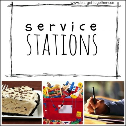 Service Stations from Let's Get Together