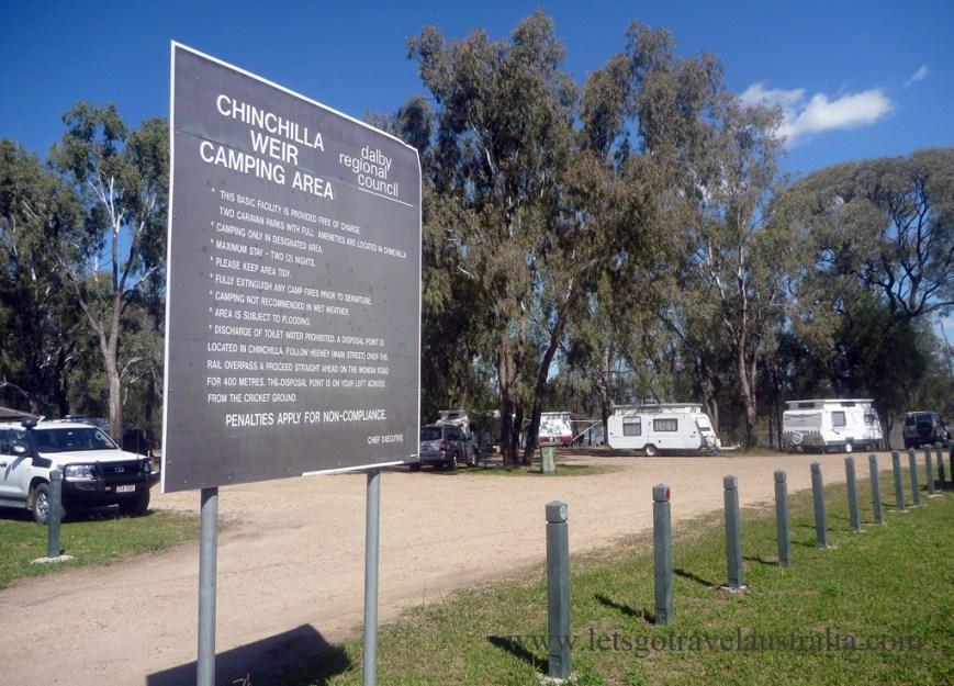 Chinchilla Australia  City pictures : Chinchilla Weir | Let's Go Travel Australia
