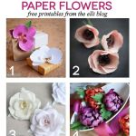 8 Printable DIY Paper Flowers