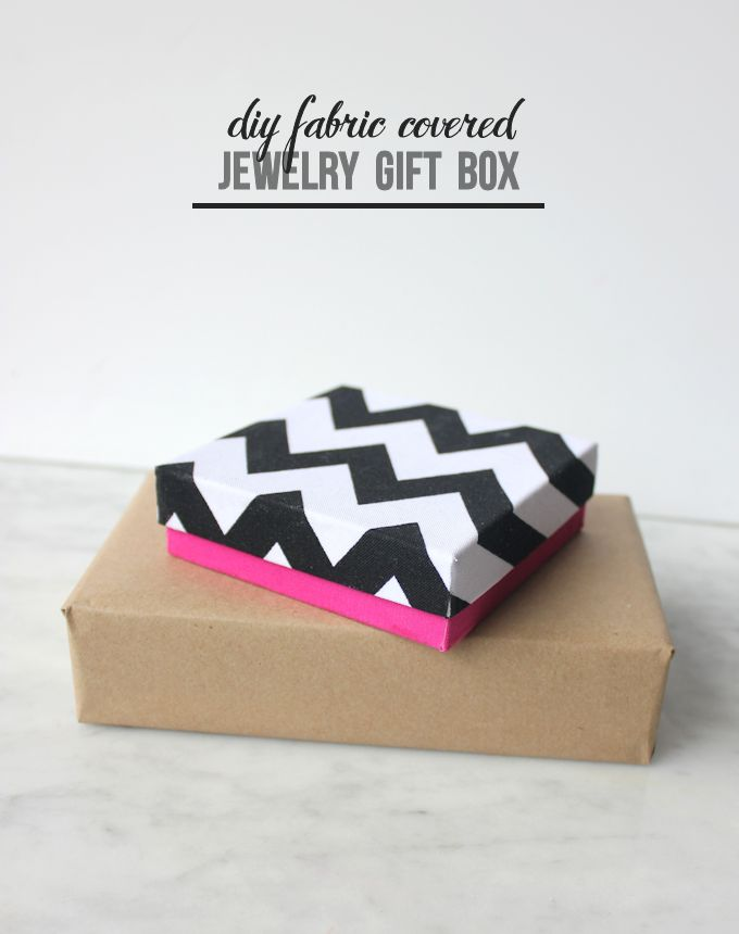 diy fabric covered jewelry gift box 2