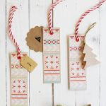 Printable Knit Christmas Gift Tags