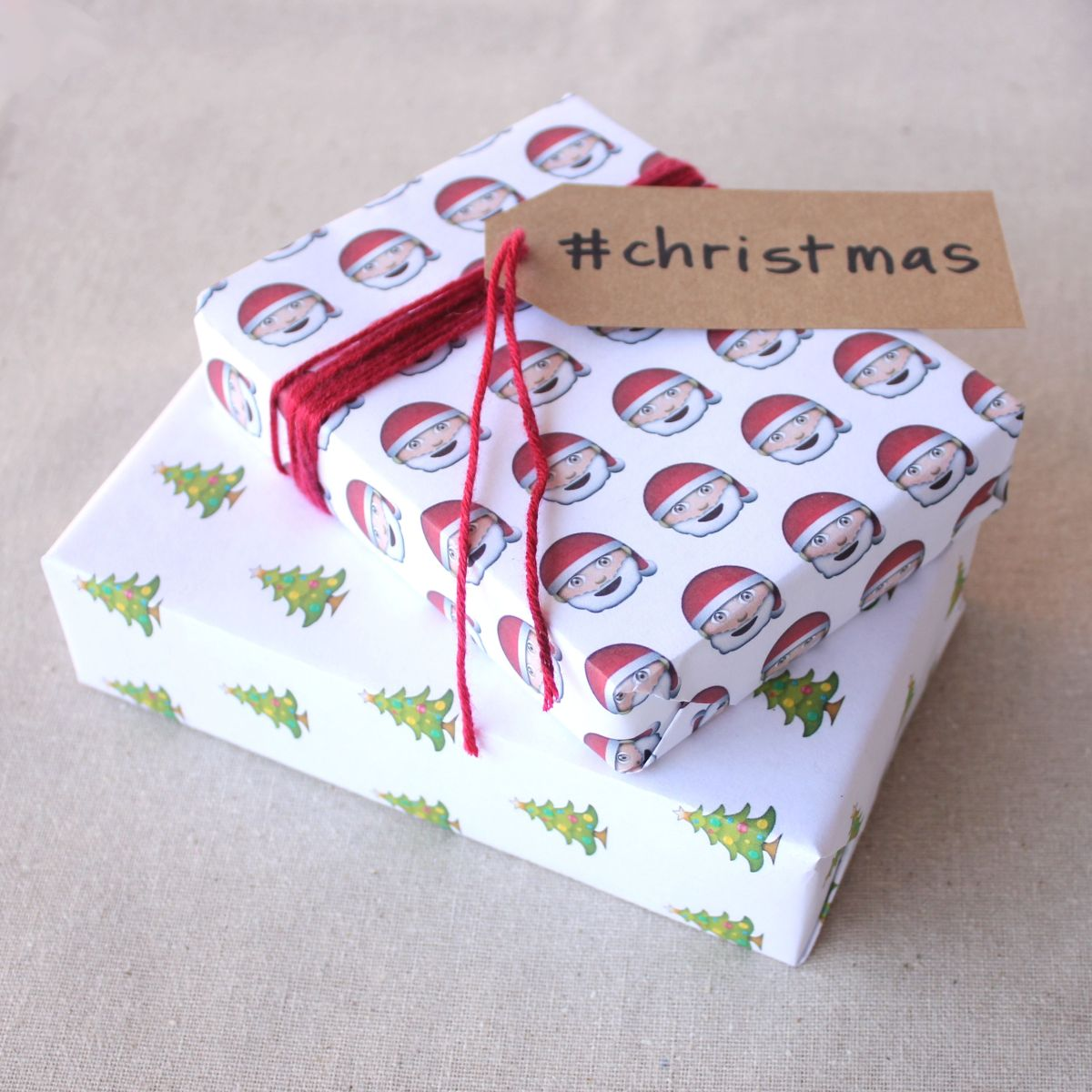 Free Printable Emoji Wrapping Paper