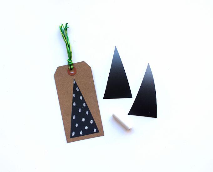 chalkboard tape gift tags 2