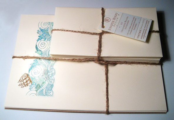 Uncharted Waters stationery package by jcbonbon on Flickr