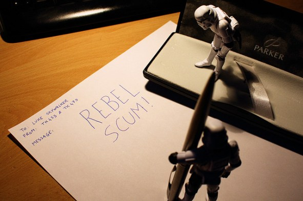 Good old letter to Luke Skywalker by Stéfan on Flickr