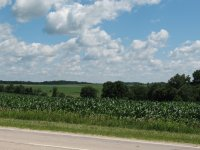 the Wisconsin countryside...