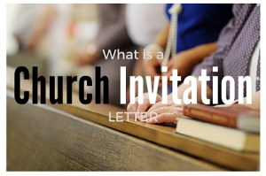 What is a church invitation letter