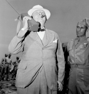Winston Churchill at Fort Jackson