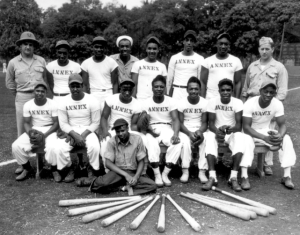 US Navy Baseball Team, New Hebrides 1944