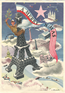 Postcard From Paris, December 1944