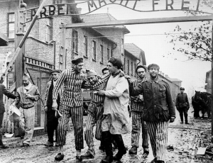 Russian Troops Liberate Auschwitz Prisoners