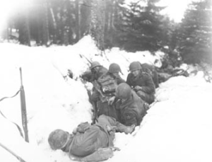 Trying To Survive Winter, Battle Of The Bulge