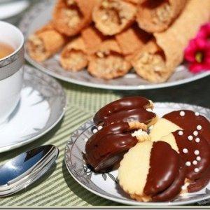 "Sable & Plum Butter Cookie {Пироженое ""Песочноe"" с Повидлом}"