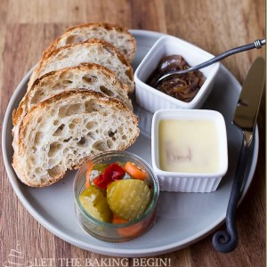 Liver Mousse with Balsamic Onion
