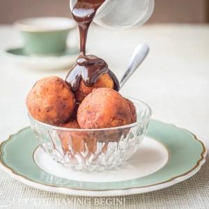 15 minute Ricotta Donuts