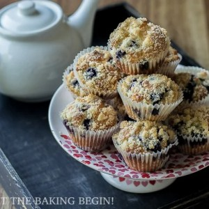 Olive Oil & Greek Yogurt Blueberry Muffin Recipe