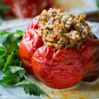 Stuffed Sweet Bell Peppers Recipe
