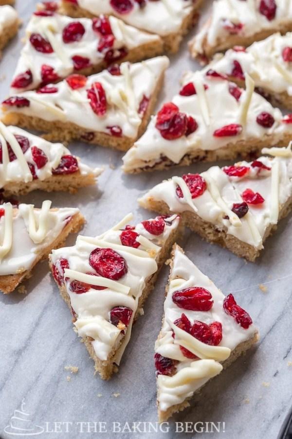 how to make starbucks cranberry bliss bars