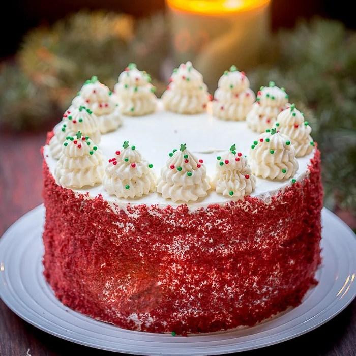 Red Velvet Cheesecake Cake - Let the Baking Begin! Let the Baking ...