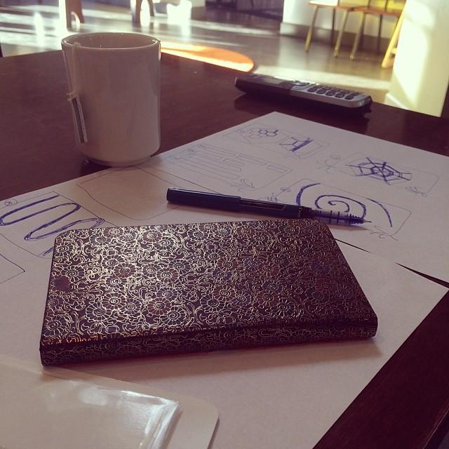 Designing something exciting!