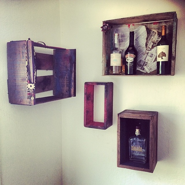 My bar corner/ new project/ not finish yet.