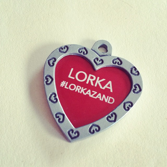 Lorka's new year gift from one of his amoos. #lorkazand یعنی اون هشتگش فقط