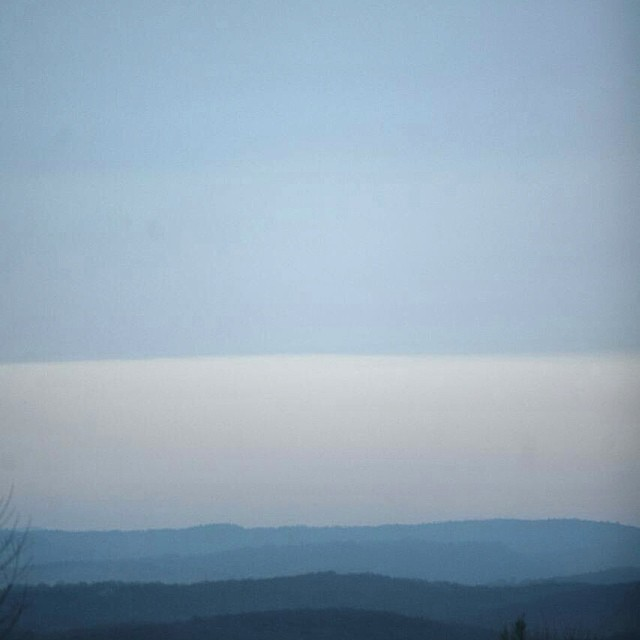 Layers of blue #nofilter #blue