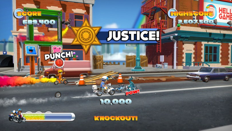 Joe danger 2 justice